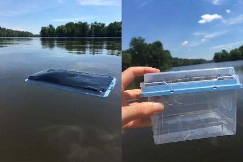 Фильтр генерирует чистую воду с помощью Солнца