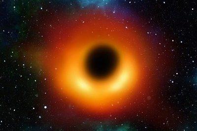 Гигантская чёрная дыра в разных спектрах света [ВИДЕО]