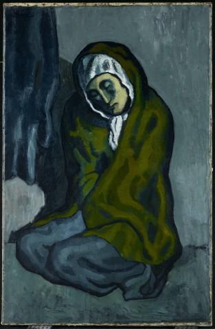 ИИ воссоздал и нарисовал скрытую картину под картиной Пикассо