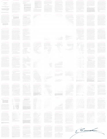 Эдвард Сноуден продал NFT-автопортрет за 400 миллионов рублей