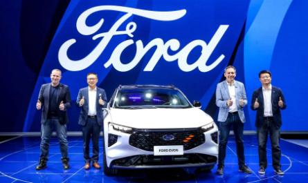 Электрокар Ford EVOS c 4K-«телевизором» в салоне [ФОТО]