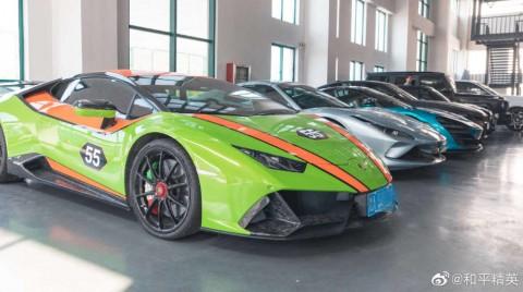Китайская полиция изъяла коллекцию дорогих авто у создателей читов