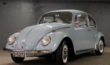 Китайский электрический клон Volkswagen Beetle Classic [ВИДЕО]