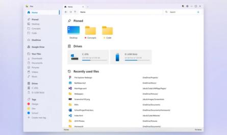 Концепт современного проводника Windows 10 [ФОТО]