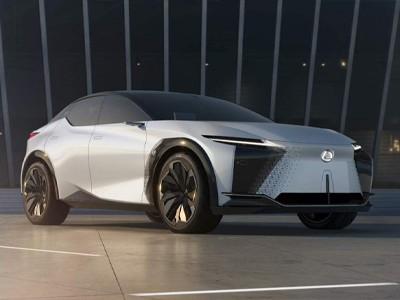 Концепткар Lexus LF-Z Electrified с дизайном из будущего [ВИДЕО]