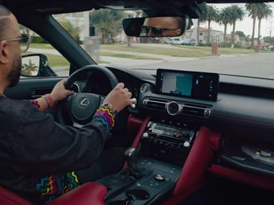 Lexus выпустила эксклюзивное авто с проигрывателем пластинок [ВИДЕО]