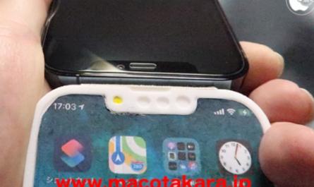 Макет iPhone 13 с обновлённой фронталкой попал на видео