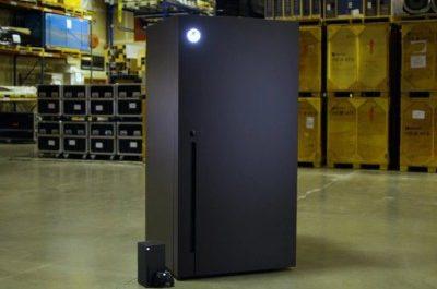 Microsoft всё-таки выпустит мини-холодильники в форме Xbox Series X