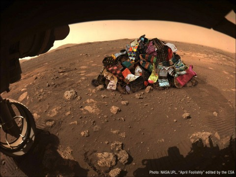 NASA нашло, куда деваются потерянные носки