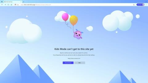 Новый Microsoft Edge стал безопаснее для детей