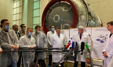 Первый модуль будущей российской орбитальной станции [ФОТО]