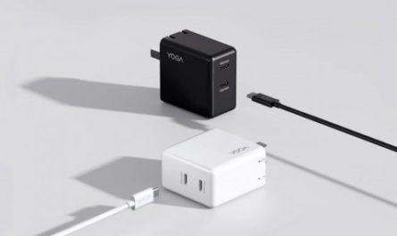 Продвинутая быстрая GaN-зарядка и USB-концентратор Lenovo