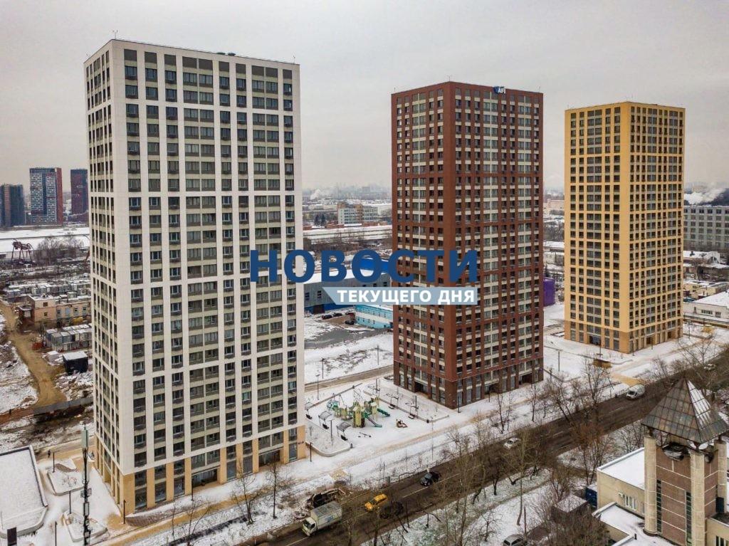 На территории бывшей промзоны «Калошино» введены в эксплуатацию три жилых дома на 690 квартир