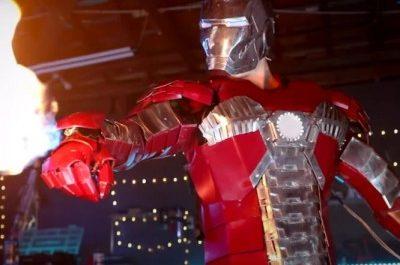 Рабочий костюм Железного человека в действии [ВИДЕО]