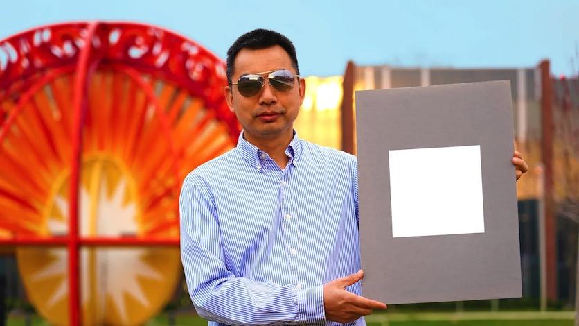 Самая белая краска в мире отражает почти 100% света