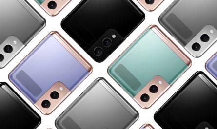 Samsung Galaxy Z Flip 3 в восьми расцветках на концепт-рендере