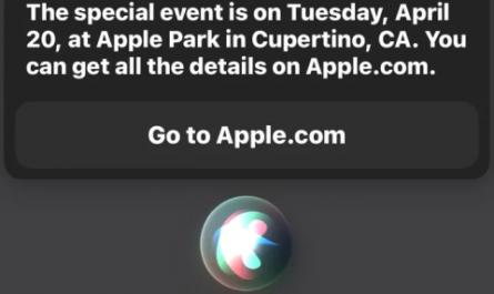 Siri проговорилась о следующей презентации Apple