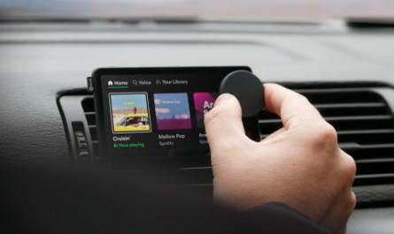 Spotify Car Thing: автомобильный плеер с голосовым управлением