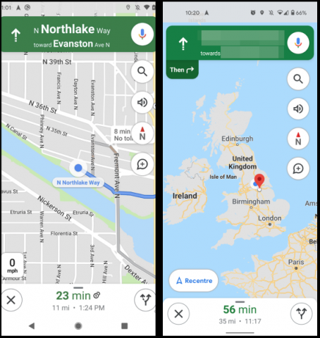 В Google Maps вернулась востребованная функция