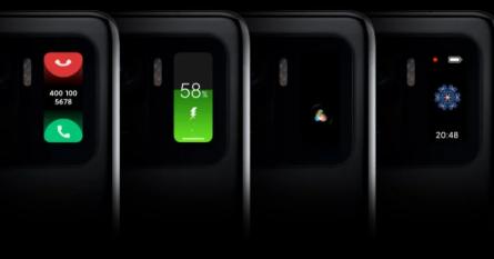 Xiaomi Mi11 Ultra получил дисплей фитнес-трекера