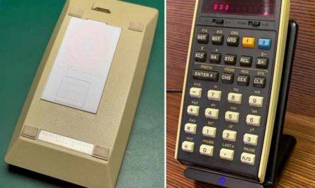 46-летний калькулятор HP оснастили беспроводной зарядкой