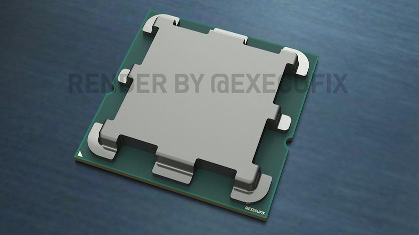 AMD Ryzen 7000: первые изображения и технические подробности