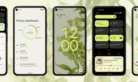 Android 12: совершенно новый дизайн и улучшение конфиденциальности