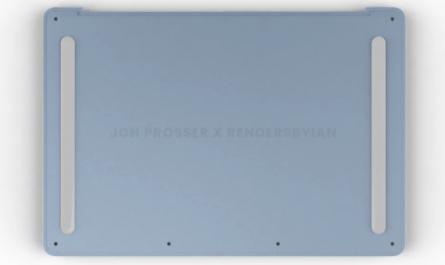 Apple MacBook Air (2021) в ярких расцветках на качественных рендерах