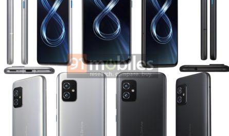 Цену флагманского ASUS ZenFone 8 слили в сеть до анонса
