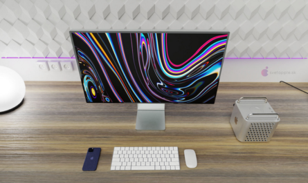 Дизайн компактного Mac Pro (2021) на концепт-рендерах