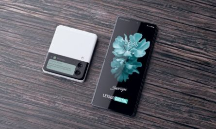 Дизайн Samsung Galaxy Z Flip 3 на качественных 4K-рендерах