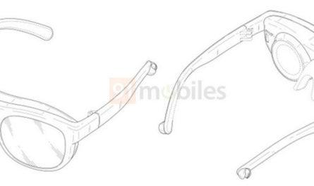 Дизайнерские AR-очки Samsung на патентных изображениях