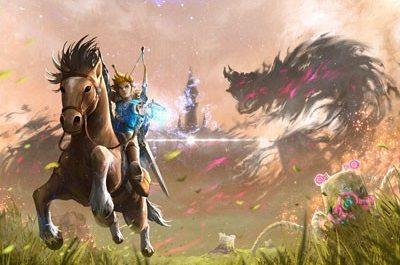 Геймер запустил Zelda: Breath of the Wild на PC в 8К и с RTX [ВИДЕО]