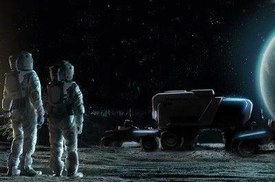 General Motors построит вездеход для астронавтов на Луне [ВИДЕО]