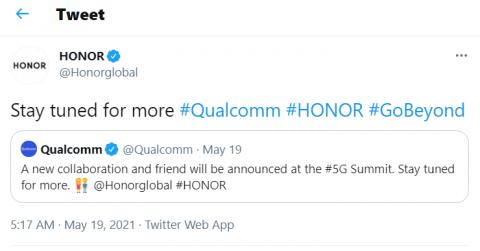 Honor 50 получит новейший 5G-процессор Qualcomm