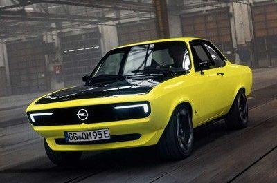 Легендарный Opel Manta перевыпущен в электроверсии [ВИДЕО]