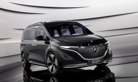 Mercedes-Benz Concept EQT: электрический минивэн с запасом хода 400 км
