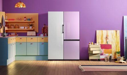 Новые холодильники Samsung Bespoke со сменными панелями уже в России