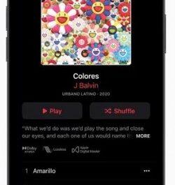 Обновление Apple Music: музыка без сжатия и поддержка Dolby Atmos