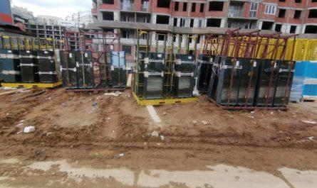 Поставка материалов для завершения строительства II очереди проблемного ЖК «Царицыно» ведется регулярно