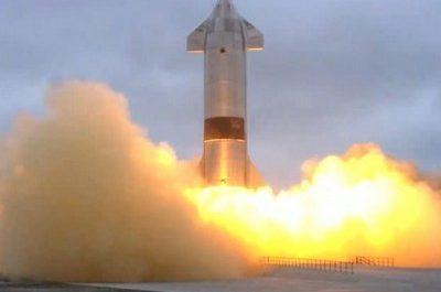 Прототип корабля Starship совершил первую успешную посадку