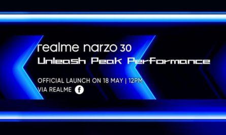 realme Narzo 30: ранняя распаковка и дата презентации [ВИДЕО]