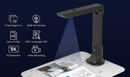 RiviCamer: портативный сканер с функцией веб-камеры [ВИДЕО]