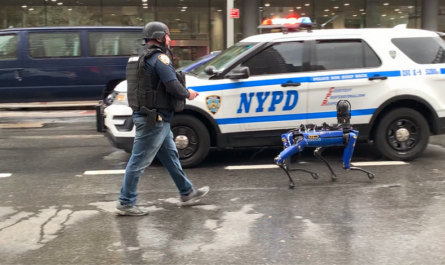 Робопса Boston Dynamics уволили из полиции