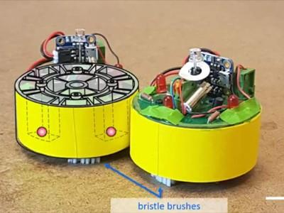 Роботы научились объединяться в настоящий рой [ВИДЕО]