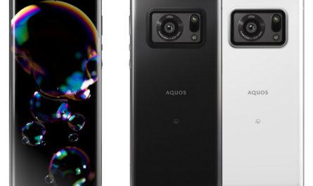 Sharp Aquos R6: огромный фотосенсор, линзы Leica и уникальный экран 240 Гц