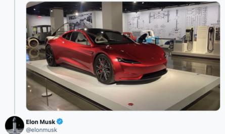 Tesla Roadster 2.0: редизайн и разгон до сотни за 1,1 секунды