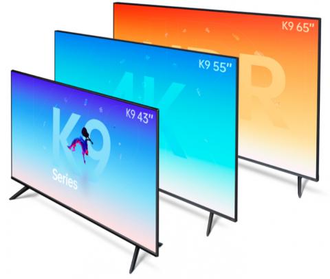 Умный 4K-телевизор OPPO K9 стоит всего $279