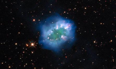 В космосе найдено ожерелье из обречённых звёзд [ФОТО]