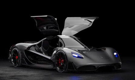 Водородный суперкар Apricale: 1100 «лошадок» и 1000 км на одном заряде